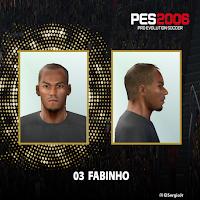 PES 6 Faces Fabinho by El SergioJr