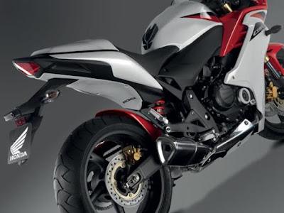2016 Honda CBR650F ABS  back image