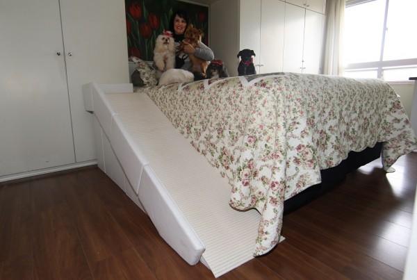 rampas para cães em camas