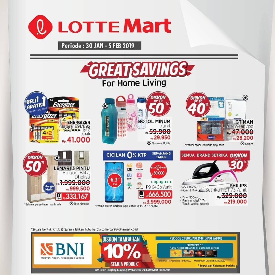 #LotteMart - #Promo #Katalog Weekend Periode 30 Jan - 05 Feb 2019