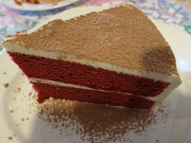 Kittin's Scarlet Cake by Cookbook Kitchen