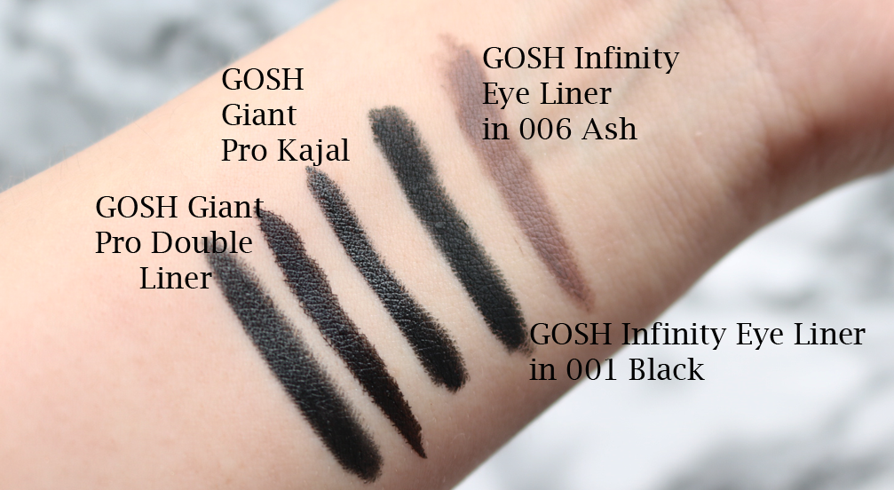 GOSH SS17 Collection - Review & Swatches