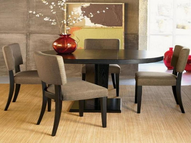 Modern Room with Round Dining Tables Modern Room with Round Dining Tables 13