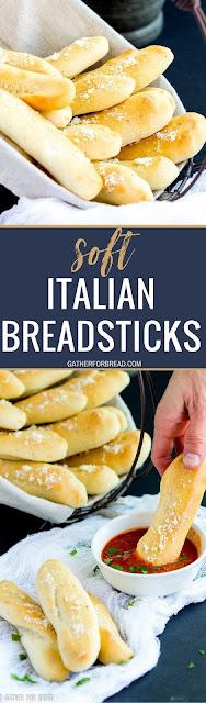 Soft Italian Breadstick