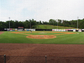 Home to center, American Legion Field