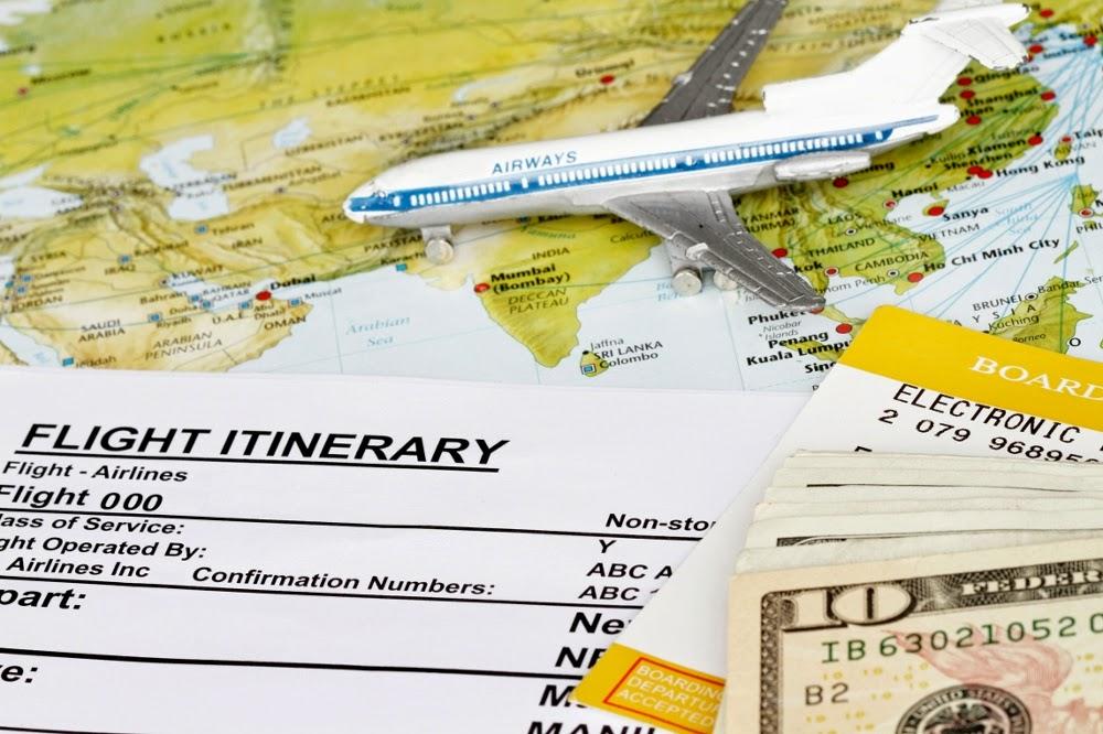Perjalanan hidup seperti perjalanan dengan pesawat terbang