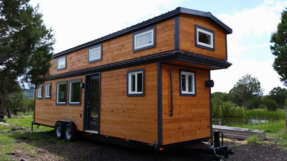 Tiny house town tiny treasure 39 s custom craftsman home for Custom craftsman home builders