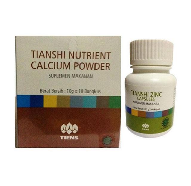 kalsium NHCP dan zinc