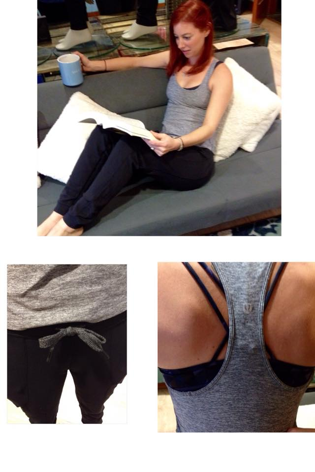 lululemon heathered slate cool racer