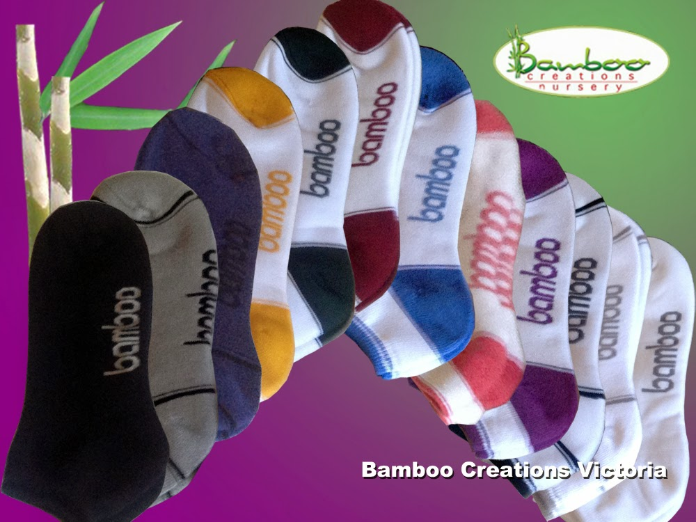 bamboo ped socks from Bamboo Creations Victoria