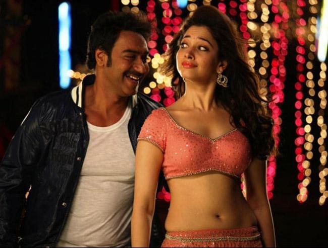 In Saree Tamanna In Himmatwala: Tamanna Latest Hot Navel Stills From Himmatwala Movie