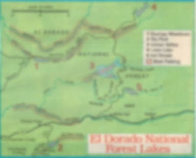 Fishing maps and fishing reports, LOON LAKE, UNION VALLEY,STUMP