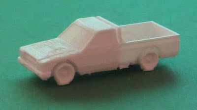 Toyota Hilux Technical from Butlers Printed Models