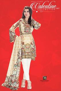 Valentine's Red Dresses in Pakistan