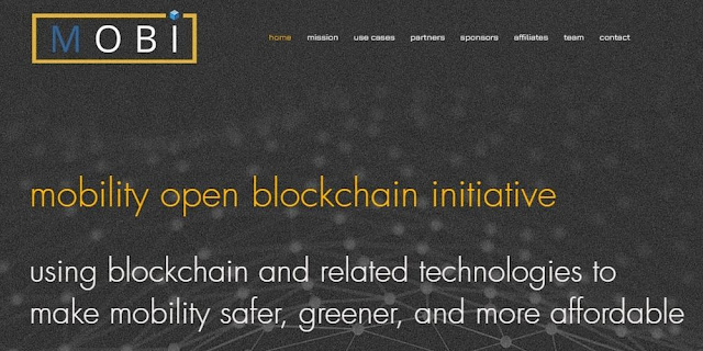 MOBI — the Mobility Open Blockchain Initiative, Launched