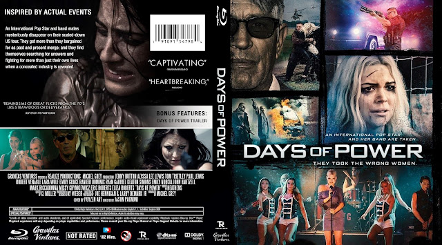 Days Of Power Bluray Cover