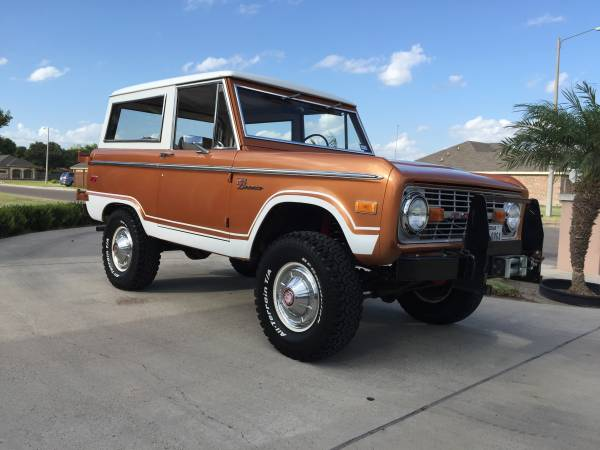 1972 Ford Bronco Explorer