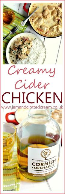 Creamy Cornish Cider Chicken