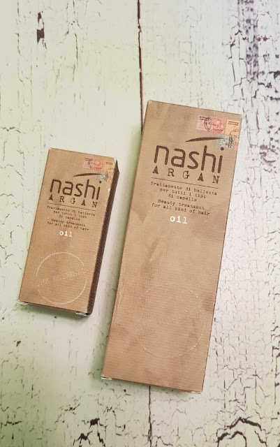 Nashi argan oil olejek arganowy do włosów