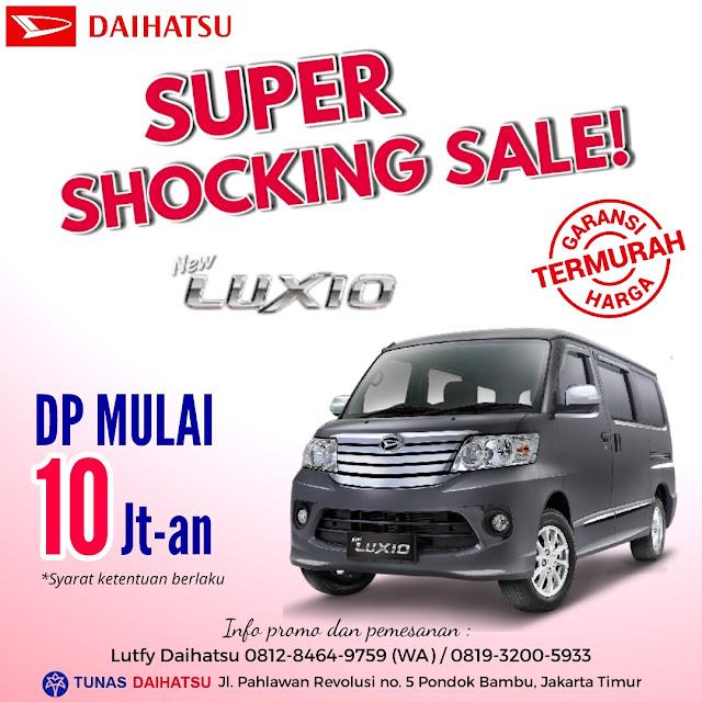 Promo Daihatsu Luxio Dp Murah Mulai 10 Jutaan Juli 2017