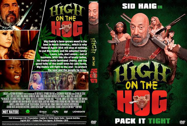 High On The Hog DVD DVD Cover