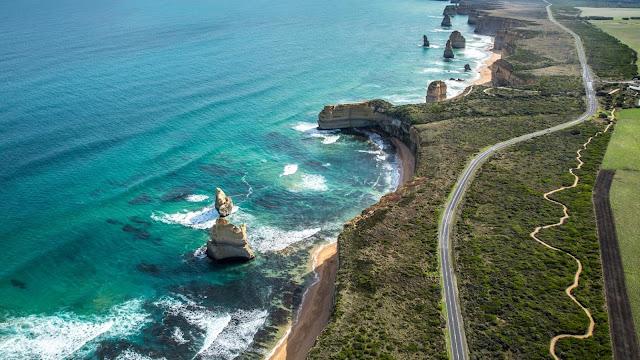 Viagem de carro alugado na Austrália - Gold Coast