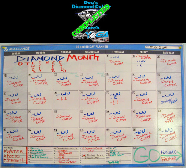 graphic relating to Ddp Yoga Schedule Printable named Ddp Yoga Plan Printable - 12 months of Contemporary Drinking water