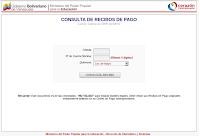 CONSULTA DE RECIBOS DE PAGO: SIN TENER QUE COLOCAR LOS DIGITOS DE BANCO. O DIRECTO CON LOS 4 DIGITOS