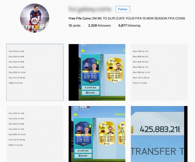 Через аккаунт Instagram продают украденную валюту