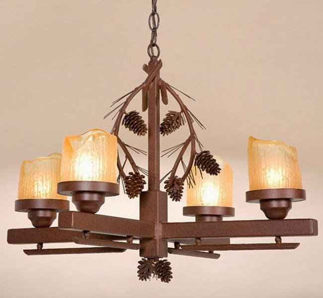 Rustic Chandeliers For Dining Room: Dining Room Light Fixtures