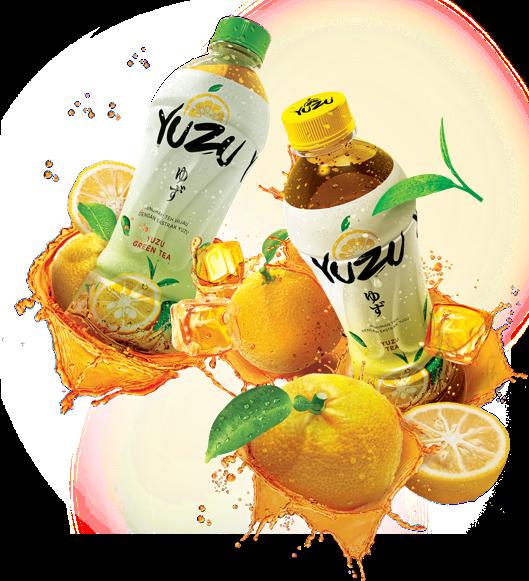 Yuzu Minuman Teh Alami dengan Kesegaran Buah Citrus