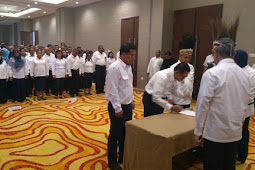 Arie Setiadie Moerwanto Lantik Pejabat BPJN Maluku dan Papua Barat