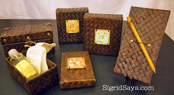 Negros showroom - banig - native handicraft - Philippine handicraft - Bacolod blogger
