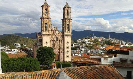 Taxco La cattedrale di Santa Prisca