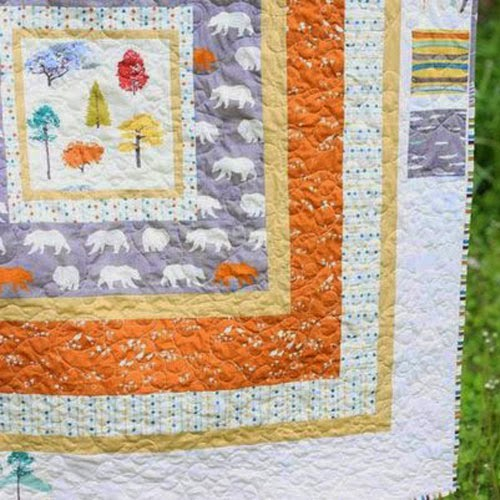 Tutorial | In The Woods Quilt