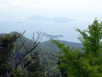 宮島の弥山頂上