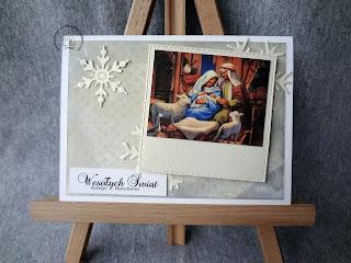 Kartka ze Świętą Rodziną