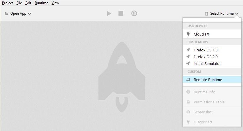 Remote Debugging Intex Cloud Fx  (Firefox OS) using ADB and WebIDE
