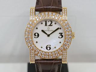 カール・F・ブヘラ(CARL F. BUCHERER)パトスディーバ ダイヤ巻き REF 10.163 750イエローゴールド製の腕時計をお買い取り致しました