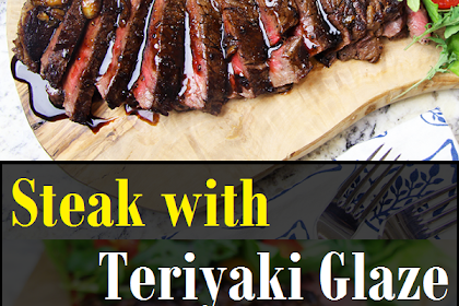 Steak with Teriyaki Glaze