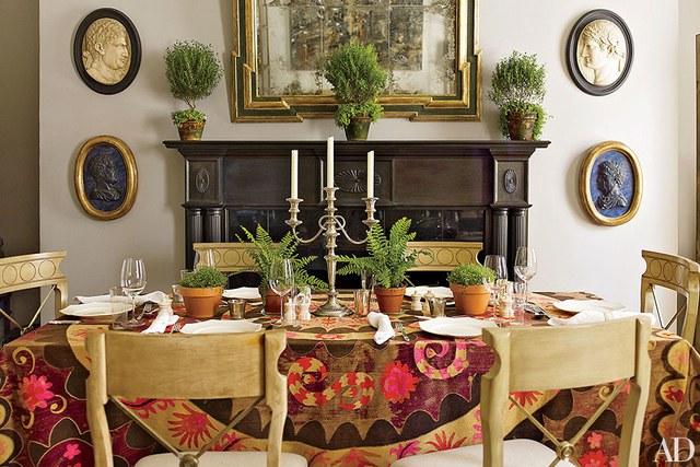 Minimal neutral serene organic tablescape table by Kira Corbin slow living