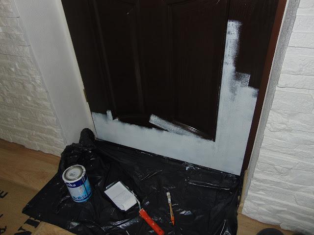 jak zmienić kolor drzwi