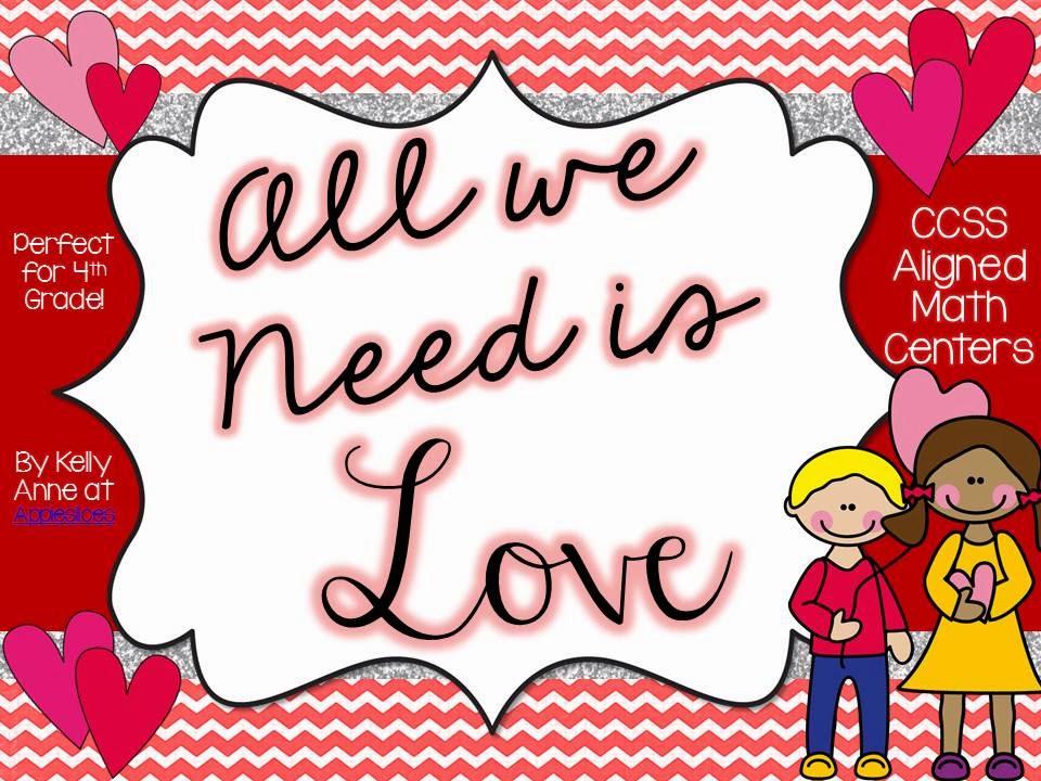 http://www.teacherspayteachers.com/Product/All-We-Need-Is-Love-February-Themed-Math-Centers-481443