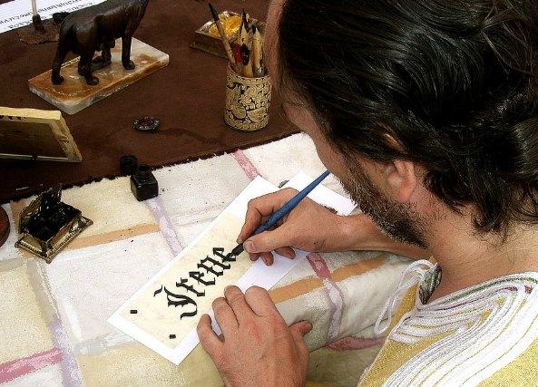 Lettering el arte de dibujar y adornar las letras