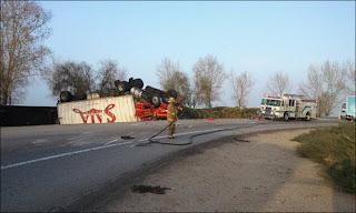Grapevine road big rig crashNov29