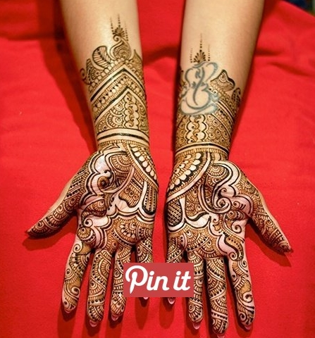 Top and Best Eid Mehndi Designs For Hand