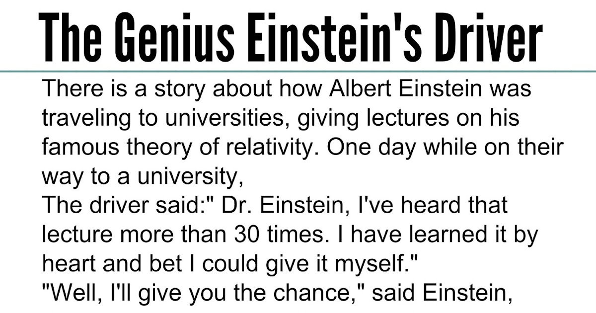 Awesome Quotes: Intelligent Story: The Genius Einstein's