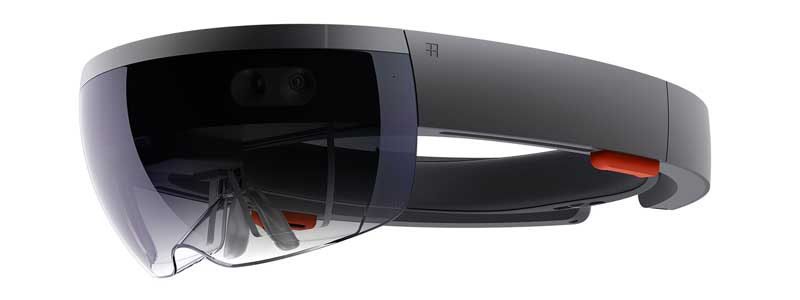 Microsoft HoloLens  grises
