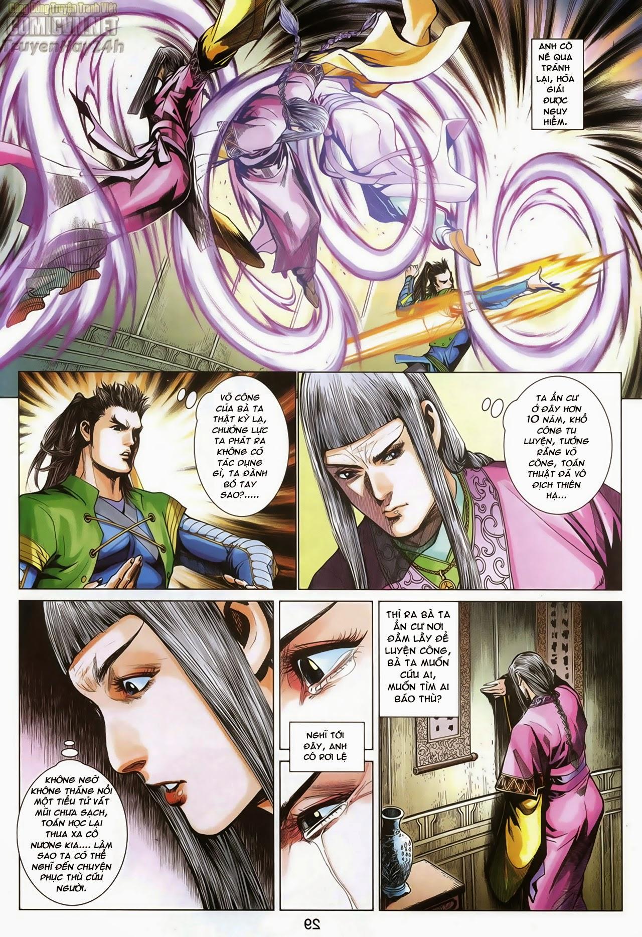 Anh Hùng Xạ Điêu anh hùng xạ đêu chap 70: hắc chiểu ẩn nữ trang 30