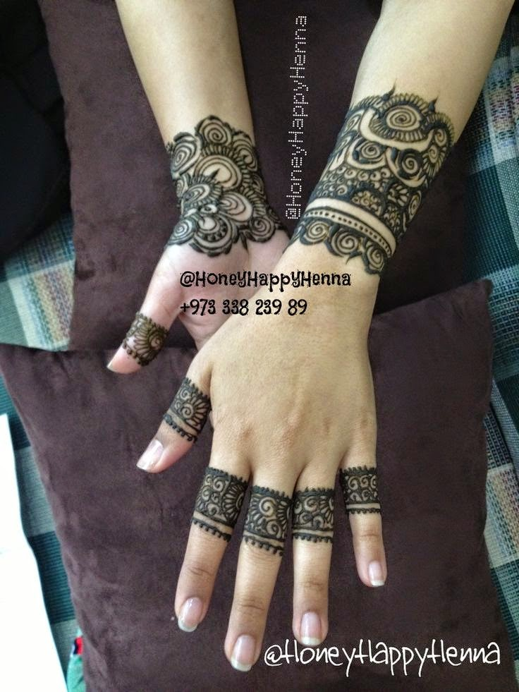 Latest Arabic Mehndi Designs For Fingers Makedes Com